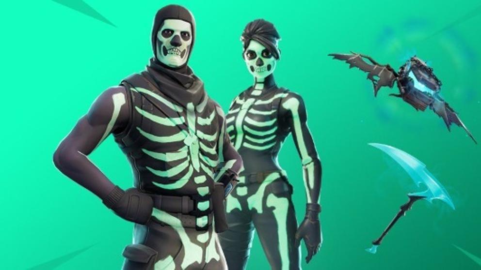 soldado-de-calaveras-fortnite-calavera-Vuelve la skin Skull Trooper a Fortnite