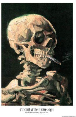 1art1-Vincent-Van-Gogh-Cigarrillo-calaveras-fumando